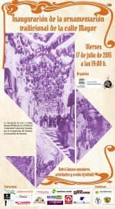 Ayuntamiento de Novelda 2015-07-17-INAUGURACION-ENRAMADA-CALLE-MAYOR-166x300 Inauguración de la ornamentación tradicional de la calle Mayor, en la calle Mayor.
