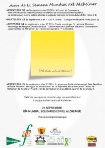 Ayuntamiento de Novelda 2015-09-18-CARTEL-ACTOS-SEMANA-MUNDIAL-ALZHEIMER-212x300 Charla-Coloquio sobre el Alzheimer emitida por Novelda Radio (107.3)