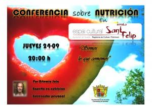 Ayuntamiento de Novelda 2015-09-24-CONFERENCIA-SOMOS-LO-QUE-COMEMOS-300x212 Conferencia de nutrición, en el Espai Cultural Ermita de Sant Felip.