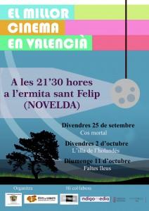 """Ayuntamiento de Novelda 2015-09-26-cartell_cinema_tardor_dos-212x300 Cine forum: """"Faltes lleus"""", en el Centro Cultural Gómez-Tortosa."""