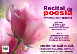 Ayuntamiento de Novelda 2015-10-16-RECITAL-DE-POESIA-300x212 Recital de poesía y música, en la Sociedad Cultural Casino de Novelda.