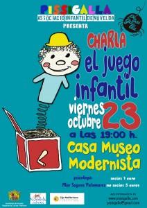 """Ayuntamiento de Novelda 2015-10-23-CHARLA-JUEGOS-INFANTILES-212x300 Charla para padres  """"El juego infantil"""", en la Casa Museo Modernista."""