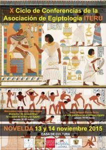 """Ayuntamiento de Novelda 2015-11-13-CONFERENCIAS-ITERU-1-212x300 Conferencia. """"Evolución de las prácticas funerarias en el antiguo egipto"""",  en la Casa de Cultura."""