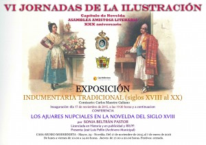 """Ayuntamiento de Novelda 2015-11-17-EXPOSICION-INDUMENTARIA-TRADICIONAL-300x212 Exposición """"Indumentaria tradicional del S. XVIII al XX"""",  en la Casa Museo Modernista."""