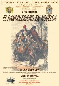 """Ayuntamiento de Novelda 2015-11-18-MESA-REDONDA-EL-BANDOLERISMO-EN-NOVELDA-207x300 Mesa Redonda """"El bandolerismo en Novelda"""", en el Casino."""