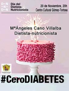 """Ayuntamiento de Novelda 2015-11-20-CHARLA-DIABETES-229x300 Charla sobre nutrición. """"Diabetes 0"""", en el Centro Cultural Gómez-Tortosa."""