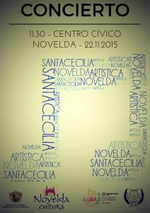 Ayuntamiento de Novelda 2015-11-22-CONCIERTO-SANTA-CECILIA-LA-ARTISTICA-212x300 Concierto en honor a Santa Cecilia, en el Auditorio Municipal.