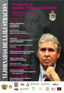 Ayuntamiento de Novelda 2015-11-23-HOMENAJE-A-MANUEL-TORREGROSA-207x300 Prgrama actos de las VI Jornadas de la Ilustración.