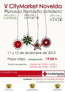 Ayuntamiento de Novelda 2015-12-11-CITY-MARKET-2015-212x300 City Market. Mercadillo solidario a beneficio de Cruz Roja Novelda, en la Plaça Vella.