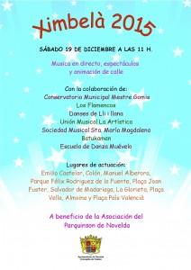 """Ayuntamiento de Novelda 2015-12-19-XIMBELA-2015-212x300 .,""""Ximbelà"""". Música en directo y animaciones de calle. A beneficio de la Asociación de Parkinson de Novelda, por la calles de Novelda."""