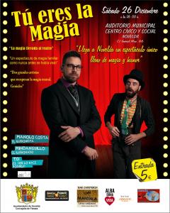 Ayuntamiento de Novelda 2015-12-26-GALA-DE-MAGIA-240x300 Gran Gala de Magia para recaudar fondos a través de la Obra Social Cableword Alba Dona Vida, en el Auditorio Municipal.