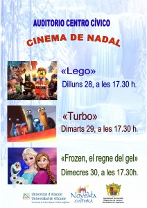 Ayuntamiento de Novelda 2015-12-28-CINEMA-DE-NADAL-212x300 Cinema de Nadal, en el Auditorio Municipal.