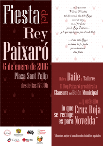 """Ayuntamiento de Novelda 2016-01-06-FIESTA-DEL-REY-PAIXARO-212x300 Novelda recupera la fiesta del """"Rey Paixaró"""", una tradición del siglo XVI."""