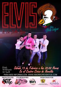 """Ayuntamiento de Novelda 2016-02-13-ELVIS-Y-LOS-GALLOS-ROJOS-212x300 Concierto especial de San Valentín: """"Elvis y los Gallos Rojos"""", en el Auditorio Municipal."""