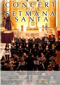 """Ayuntamiento de Novelda 2016-03-05-CONCIERTO-DE-SEMANA-SANTA-212x300 Concierto. """"Orquestra Ciutat de Novelda"""" y Cor de Cambra """"Ars Nova"""",  en la Iglesia de San Pedro."""