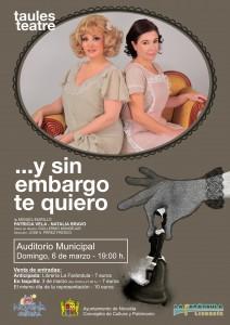 """Ayuntamiento de Novelda 2016-03-06-TEATRO-Y-SIN-EMBARGO-TE-QUIERO-212x300 Teatro. """"Y sin embargo te quiero"""" de Miguel Murillo, en el Auditorio Municipal."""