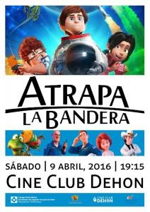 """Ayuntamiento de Novelda 2016-04-09-ATRAPA-LA-BANDERA-212x300 Cine Club Dehon: """"Atrapa la Bandera"""", en el Cine Club Dehon."""