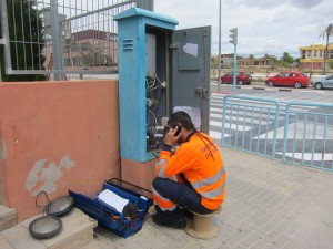 Ayuntamiento de Novelda IMG_7062-300x225 Concluye la actuación para la mejora de la seguridad vial en la rotonda de Cura González