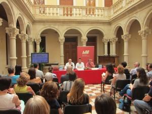 Ayuntamiento de Novelda IMG_7885-300x225 Los archiveros de las Comunitat Valenciana, reunidos en Novelda, dedican su V Congreso a la Transparencia