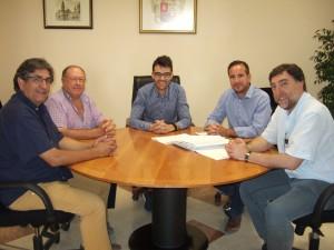 Ayuntamiento de Novelda DSCF9726-300x225 El alcalde se reúne con el nuevo presidente de Mármol de Alicante