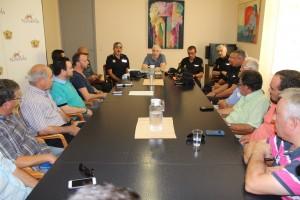 Ayuntamiento de Novelda Reunión-Vigilancia-300x200 Primera reunión de coordinación de la campaña de vigilancia rural