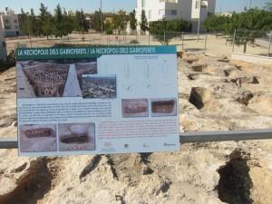 Ayuntamiento de Novelda necro-300x225 Novelda celebra el Día Mundial del Turismo con una visita guiada a la Necrópolis Islámica de Els Garroferets