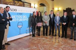 Ayuntamiento de Novelda foro-mini-300x197 La Bodega Heretat de Cesilia acoge el Primer Foro sobre los Retos del Enoturismo