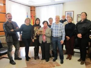 Ayuntamiento de Novelda IMG_2728-300x225 El Ayuntamiento reconoce la labor de la arqueóloga municipal con motivo de su jubilación