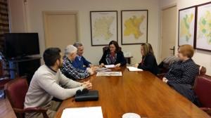 Ayuntamiento de Novelda Reunion-CHJ-300x168 El alcalde solicita a la Confederación Hidrográfica del Júcar actuaciones de mejora en el Chorro del Azud