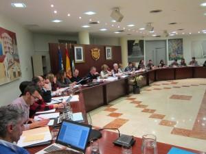 Ayuntamiento de Novelda IMG_3447-300x225 El pleno aprueba una subida media del tres por ciento en las tasas municipales
