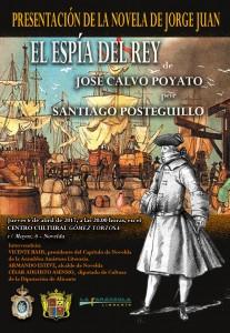 Ayuntamiento de Novelda CARTEL-libro-Jorge-Juan-207x300 Jorge Juan, El espía del rey