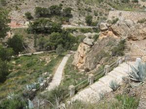 Ayuntamiento de Novelda IMG_5251-300x224 Se reabre la escalinata de acceso peatonal al Santuario