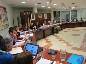 Ayuntamiento de Novelda pleno-mini El pleno aprueba una propuesta de Compromís para solicitar la rebaja de la barrera electoral