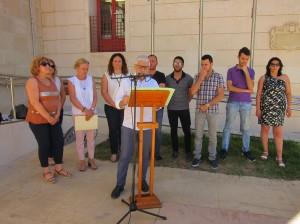 Ayuntamiento de Novelda IMG_6970-300x224 El Ayuntamiento de Novelda se suma, con la lectura de un manifiesto, a la celebración del Día Internacional del Orgullo LGTBI