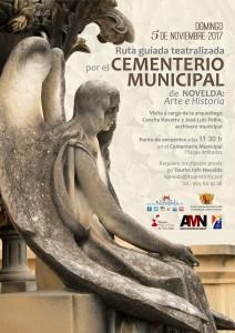 Ayuntamiento de Novelda Cartel-Cementerio-212x300 Visita guiada teatralizada en el cementerio de Novelda