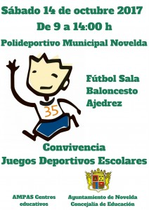 Ayuntamiento de Novelda Convivencia-juegos-escolares-212x300 Los Juegos Deportivos Escolares comienzan con una jornada de convivencia