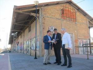 Ayuntamiento de Novelda muelle-ayto-300x225 El antiguo muelle de la estación del ferrocarril acogerá el Museo Comercial y del Transporte de Novelda