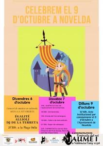 Ayuntamiento de Novelda terres-9-octubre1-212x300 Cultura y Terres del Vinalopó organizan una serie de actividades para conmemorar del Día de la Comunitat Valenciana