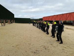 Ayuntamiento de Novelda tiro01-300x225 Prácticas de tiro en la Policía Local