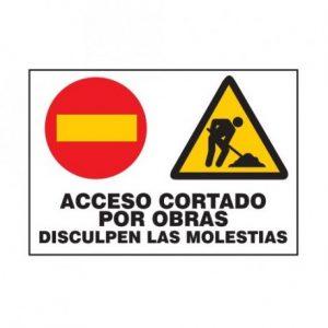 Ayuntamiento de Novelda cartel-acceso-cortado-300x300 Cortes de tráfico a partir del miércoles 13/12/2017