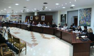 Ayuntamiento de Novelda Pleno-ayto-300x179 El Ayuntamiento de Novelda apoya las reivindicaciones de la huelga feminista convocada para  el  Día Internacional de la Mujer