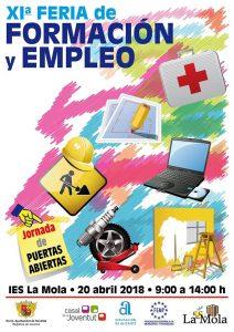 Ayuntamiento de Novelda Cartel-Feria-Formación-212x300 Feria de Formación y Empleo en el IES La Mola