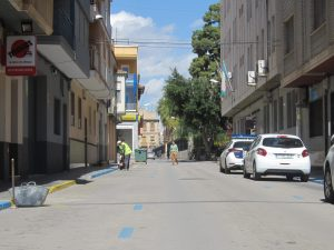 Ayuntamiento de Novelda jaume-ayto-300x225 Se inician las obras de reurbanización de la calle Jaume II incluídas en la remodelación de la zona de la Avenida de la Constitución