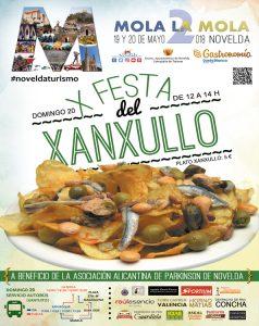 Ayuntamiento de Novelda Cartel-WEB-Mola-la-Mola-Xanxullo-238x300 La décima Festa del Xanxullo, a beneficio de la Asociación Alicantina de Parkinson de Novelda