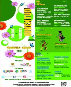 Ayuntamiento de Novelda cartel-WEB-Talleres-Primavera-2018-246x300 La concejalía de Juventud presenta los talleres de Primavera