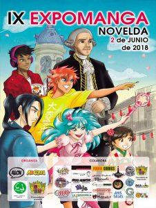 Ayuntamiento de Novelda Cartel-Manga-226x300 Se presenta la IX edición de ExpoManga