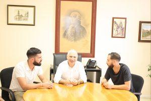 Ayuntamiento de Novelda IMG_7875-ayto-300x200 El alcalde recibe a los cocineros Pablo González y Óscar Castellano, ganadores del Certamen Gastronómico de Madrid