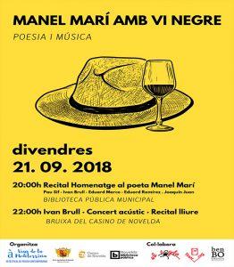Ayuntamiento de Novelda veus-desta-262x300 Veus de la Mediterrànea abre su tercera edición con un homenaje a Manel Marí
