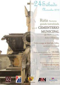 Ayuntamiento de Novelda Cartel-ruta-cementerio-ok-212x300 Nueva Ruta Guiada en el Cementerio Municipal