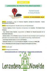 Ayuntamiento de Novelda Demo-Day-200x300 Un Demo Day pondrá el punto final a la Lanzadera de Proyectos Innovadores